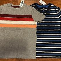 Gap Kids Old Navy Boys Size Small 6 7 Striped Chest Pocket Tee Shirt Nwt Photo