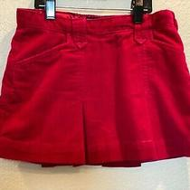 Gap Kids Pink Girls Lined Mini Skirt Size 8 Regular Christmas Holiday Photo