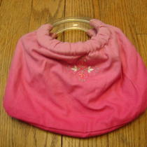 Gap Kids  Pink Ring Handled Purse 8x5x05 Photo