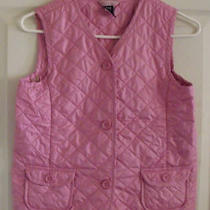 Gap  Kids  Pink  Vest  Girl  Sz  Xl/12 Photo
