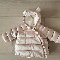 Gap Kids Puff Coat Pink Size 0-6m Photo