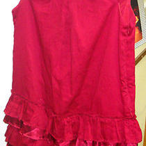 Gap Kids Red Dress With Layered Bottom Photo