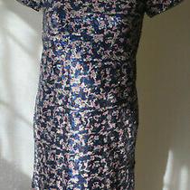 Gap Kids Short Sleeve Zip Back Beautiful Multi Color Sequin Dress Xxl (14-16) Photo