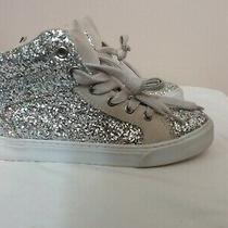 Gap Kids Silver/multi Glitter Sneakers Girls Sz 2 Euc  Photo