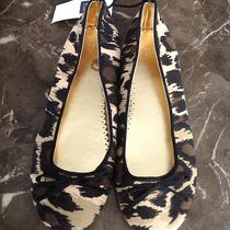Gap Kids Size 3 Girls Leopard Print Ballet Style Flats New With Tags.  Photo