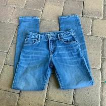 Gap Kids Straight Leg Slim Unisex Kids Jeans Size 14 Regular Photo