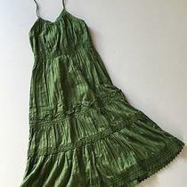 Gap Kids Super Cute Green Halter Dress Size M 8 Vguc Photo