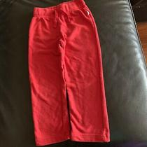 Gap Kids Sweatpants Pants Unisex Size Xs 4-5y Drawstring Waist Fleece Red  Photo