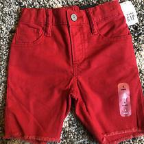 Gap Kids Toddler Denim Shorts Sz 4 Boys Summer Clothes Pure Red Photo