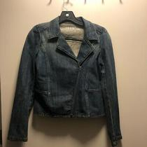 Gap Kids Zipper Jean Jacket Girls Size Xxl Photo