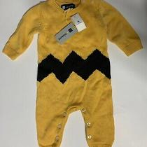 Gap Knitted One Piece Romper Peanuts Collection 3-6m Holiday 2015 Photo