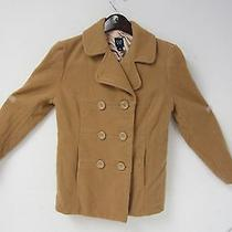 Gap - Ladies - Double-Breasted Jacket - Size Medium- Tan- Free Shipping Photo