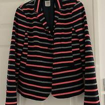 Gap Ladies Stripy Blazer Size 10 Photo