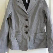 Gap Ladies Womans Size 8 Grey Suit Jacket Blazer Smart Workwear Office Photo
