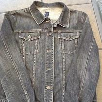 Gap Ladies Xl Jean Jacket in Graphite Denim. Photo