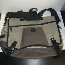 Gap Laptop Messenger Bag Crossbody Bag Tan Vintage Photo
