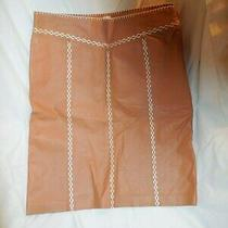 Gap Leather Skirt Womens Size 6 Pencil/straight Tan/brown Photo