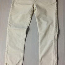 Gap Limited Edition 1969 Cords Corduroy Skinny Pants Ivory Size 2 Photo