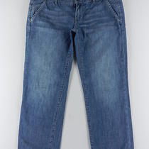 Gap Limited Edition Cropped Crop Capri Denim Blue Jeans Womens Pant Sz 0 2 Solg Photo