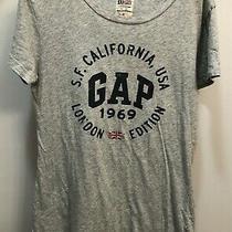 Gap  London Edition Tee Shirt  Women's Size M Gray Photo