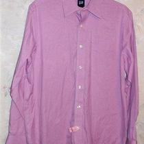 Gap Long Sleeve Dress Shirt Medium-23