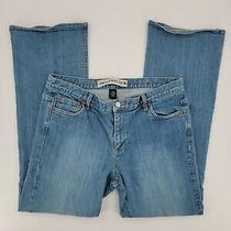 Gap Low Rise Bootcut Stretch Denim Blue Jeans Women's Size 14r Light Wash Photo