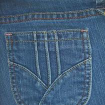 Gap Low Rise Cropped Stretch Womens Jean Size 4 Short  l22.5 Photo
