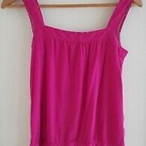 Gap Magenta Pink Vest Extra Small  Photo