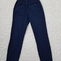Gap Maternity 6 Blue Bi-Stretch Skinny Full Panel Crop Ankle Pants 27