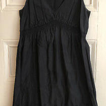 Gap Maternity Black Eyelet Dress Sleeveless  Photo