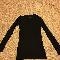 Gap Maternity Blackbcotton Round Neck Ling Sleeved T Shirt Size M Photo