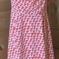 Gap Maternity Coral Dress Size Large Photo