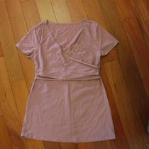 Gap Maternity Crossover Nursing Top Purple Dusky Orchid Sz Xs Photo