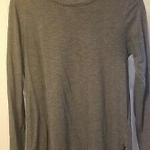 Gap Maternity Dark Grey Long Sleeve Tshirt Women's Size Medium Photo
