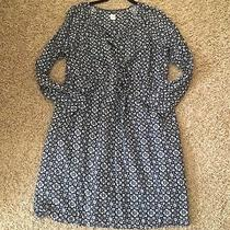 Gap Maternity Dress Large Navy Blue Fall L Photo