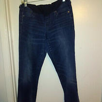 Gap Maternity Girlfriend Jeans Med Blue Size 27r Photo