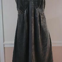 Gap Maternity Gray Grey Velvet Satin Nightgown Xs X-Small Photo