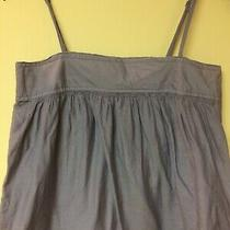 Gap Maternity Gray Strap Dress Lined Xs With Pockets Photo
