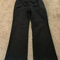 Gap Maternity Hip Slung Fit Black Pants - Size 14 Ankle Photo