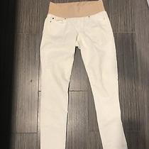 Gap Maternity Jeans Skinny White 27/4r Photo