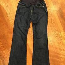 Gap Maternity Jeans Sz 27/4r Long & Lean Photo