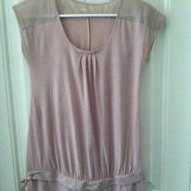 Gap Maternity Lilac Tunic Extra Small Xsmall Photo