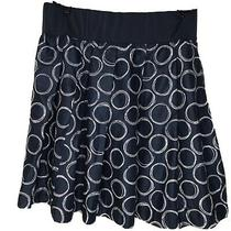 Gap Maternity Navy and White Skirt Size 8 Photo