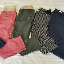 Gap Maternity Pants Lot Set of 6 Dress and Casual Size 2 Pre-Owned Photo
