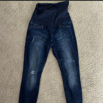 Gap Maternity Revolution Skinny Jeans Size 6 Photo