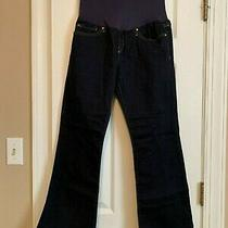 Gap Maternity Sexy Boot Jeans Size 29/8 Short/ankle Great Condition Photo