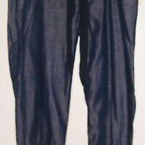 Gap Maternity Size S Blue Casual Elastic Waist Pants Photo