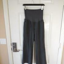 Gap Maternity Stretch Full Panel Pants Grey Bootcut  Size 4a Photo