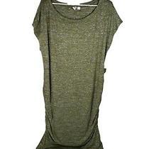 Gap Maternity Sweater Knit Dress Sleeveless Size Xlarge Olive Green Heather Nwot Photo