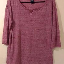 Gap Maternity Top Red Size Medium Photo